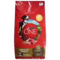 Purina ONE SmartBlend Lamb & Rice Formula Natural Dry Dog Food