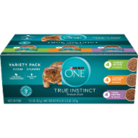 Purina ONE True Instinct Protein-Rich Wet Cat Food Variety Pack