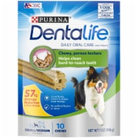 DentaLife Small Daily Oral Care Dog Treats 10 Count