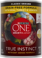 Purina ONE SmartBlend True Instinct Classic Ground Turkey & Venison Adult Dog Food