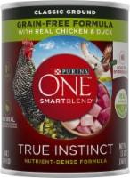 Purina ONE SmartBlend True Instinct Classic Ground Chicken & Duck Adult Dog Food