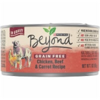 Beyond Grain Free Chicken Beef & Carrot Recipe in Gravy Wet Cat Food