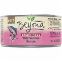Beyond Grain Free Wild Salmon Recipe Pate Wet Cat Food