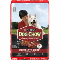 Dog Chow Complete Adult with Real Beef Dry Dog Food