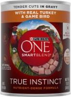 Purina ONE SmartBlend True Instinct Turkey & Game Bird Tender Cuts in Gravy Wet Dog Food
