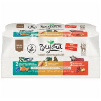 Beyond Grain Free Ground Entree Natural Pate Wet Dog Food Variety Pack