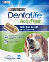 DentaLife ActivFresh Small/Medium Dog Chews