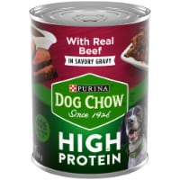 Dog Chow High Protein with Real Beef in Savory Gravy Wet Dog Food