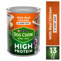 Dog Chow Real Chicken in Savory Gravy Wet Dog Food - 13 oz
