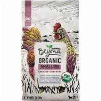 Beyond Organic Chicken Egg & Carrot Recipe Dry Small Dog Food