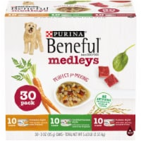 Purina Beneful Medleys Assorted Flavors Wet Dog Food