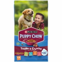 Puppy Chow Healthy Start Nutrition Tender & Crunchy with Real Beef & Rice Dry Puppy Food