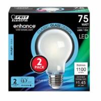 Feit Electric Enhance A19 E26 (Medium) Filament LED Bulb Daylight 75 watt Watt Equivalence 2 - Count of: 1