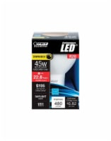 Feit Electric R20 E26 (Medium) LED Bulb Daylight 45 Watt Equivalence 1 pk - Case Of: 4; Each - Count of: 1