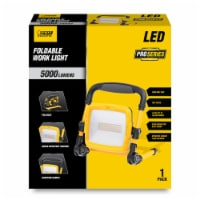 Feit Electric Pro Series 5000 lumens LED Corded Stand (H or Scissor) Work Light - Case Of: 1; - Count of: 1
