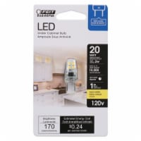 Feit Electric T4 G8 LED Bulb Warm White 20 Watt Equivalence 1 pk - Case Of: 1; Each Pack Qty: - Count of: 1