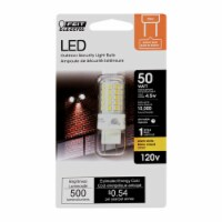 Feit Electric GY8.6 GY8.6 LED Bulb Warm White 50 Watt Equivalence 1 pk - Case Of: 1; - Count of: 1