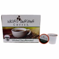 Wicked Decaffeinated Coffee by Bostons Best for Unisex - 24 Cups Coffee - 24 Cups
