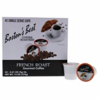 French Roast Gourmet Coffee by Bostons Best for Unisex - 42 Cups Coffee - 42 Cups