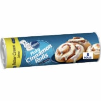 Pillsbury Flaky Cinnamon Rolls with Butter Cream Icing 8 Count