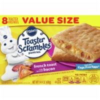 Pillsbury French Toast Bacon Toaster Scrambles Pastries - 8 ct / 14.4 oz