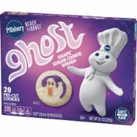 Pillsbury Ready to Bake! Ghost Shape Sugar Cookie Dough - 20 ct / 9.1 oz