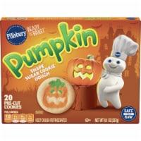Pilsbury Ready to Bake! Pumpkin Shape Sugar Cookie Dough - 20 ct / 0.57 oz