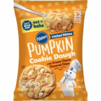 Pillsbury Pumpkin Cookies with Cream Cheese Flavored Chips 12 Count