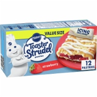 Pillsbury Strawberry Toaster Strudel Pastries