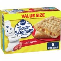 PillsburyToaster Scramble Bacon Egg & Cheese Pastries Value Size - 8 ct / 14.4 oz
