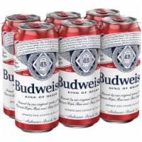 Budweiser Lager Beers 6 Count