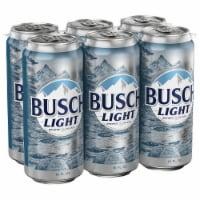 Busch Light Lager Beer