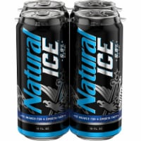 Natural Ice Beer 4 Pack