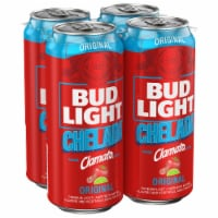 Bud Light Chelada Beer with Clamato