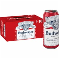 Budweiser Lager Beer - 8 cans / 16 fl oz