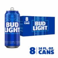 Bud Light Retro Pack Lager Beer - 8 cans / 16 fl oz