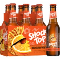 Shock Top Belgian White Ale Beer