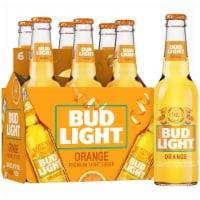 Bud Light Orange Beer 6 Bottles