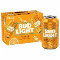 Bud Light Orange Lager Beer 12 Pack
