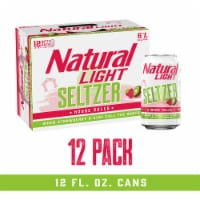 Natural Light House Rules Strawberry & Kiwi Hard Seltzer