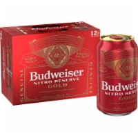 Budweiser Nitro Reserve Gold Extra Smooth Lager