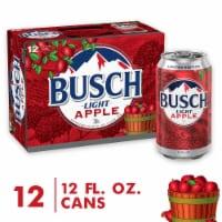 Busch Light Apple Beer - 12 cans / 12 fl oz