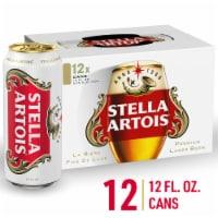 Stella Artois - 12 pack can - 12 cans / 12 fl oz ea