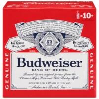 Budweiser Lager Aluminum Bottles