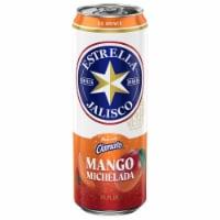 Estrella Jalisco Mango Michelada Beer