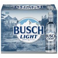 Busch Light Beer - 15 cans / 16 fl oz