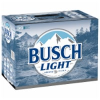 Busch® Light Lager Beer - 30 cans / 12 fl oz