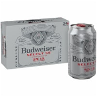 Budweiser Select 55 Premium Light Lager Beer