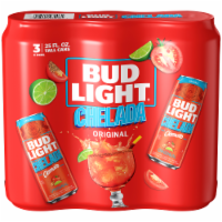 Bud Light Chelada with Clamato