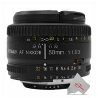 Nikon Af Fx Nikkor 50mm F/1.8d Lens With Auto Focus For Nikon Dslr Cameras - 1